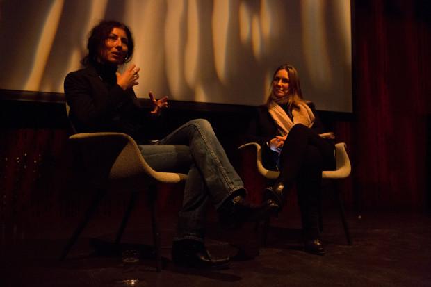 mimi chakarova svarer på spørsmål fra publikum